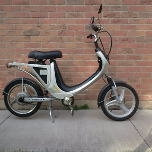 Electric Bike, $300