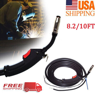 8.210ft Mig Welding Gun Parts Torch Stinger Replacement Chicago Electric Welder