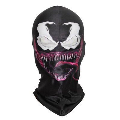 Venom Mask Amazing Spider Man 3 Hoods Halloween Cosplay Full Head Mask US SHIP! - Venom Halloween