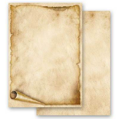 ALTE PAPIERROLLE Motiv-Briefpapier 20 Blatt DIN A4 90g/m²