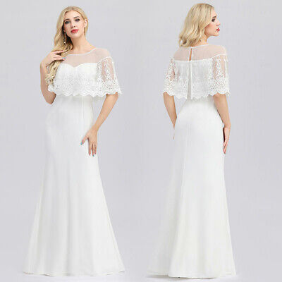 Ever-pretty US White Lace Evening Cocktail Dresses Homecoming Party Prom Gowns](Homecoming Party)