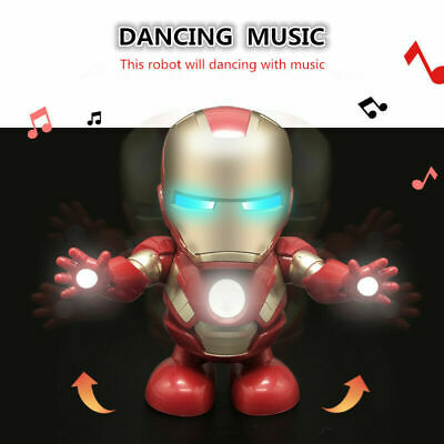 Toys For Boys Kids Music Dancing Robot 2 3 4 5 6 7 8 9 Years Age Old Xmas Gift
