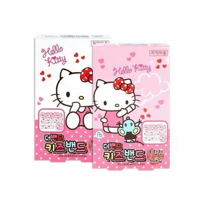 2 x Hello Kitty Band Aids Sanrio Bandages Box of 16pcs (2 random box)