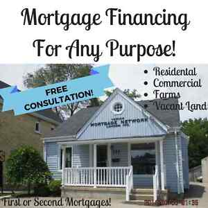 First or Second Mortgages for Residential, Commercial or Farms