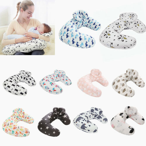 Newborn Baby U-Shap Maternity Breastfeeding Nursing Support Pillow Detachable US Baby
