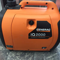ALL NEW GENERAC IQ2000 PORTABLE GENERATOR