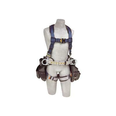 3m Dbi-sala Exofit Construction Style Harness With Tool Pouches 1108518 Large