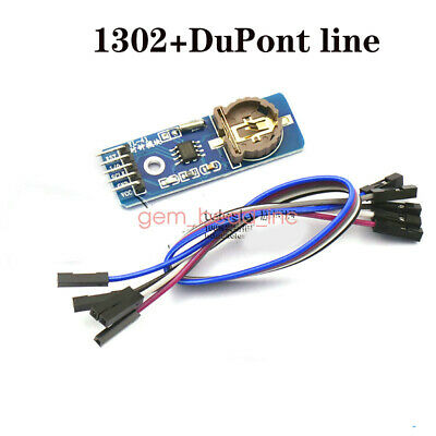 New Rtc Ds1307 Ds1302 Ds3231 Real Time Clock Module For Arduino Avr Arm Pic Smd