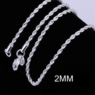 1.5 Mm Singapore Chain (Italian Silver Plated 1.5mm Twisted Singapore Chain Necklace)