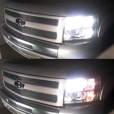Switchback White Amber Parking Signal LED + Resistor for 2007-2013 Silverado