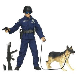 GI Joe Real Action Heroes 12 inch Police Officer & Firefighter