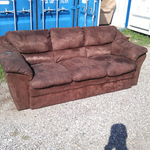 Brown Couch and Armchair set - Best Offer