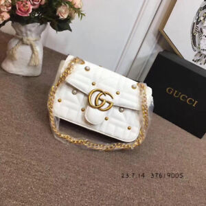 GUCCI-GG WHITE NEW LUXURY BAG