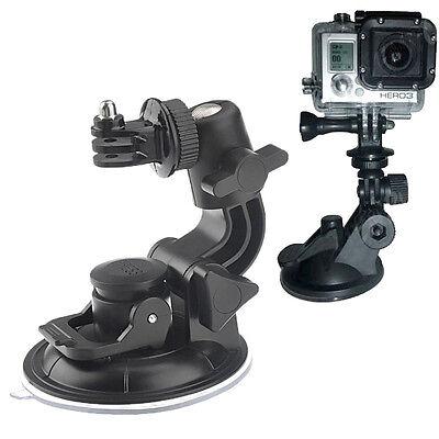 Supporto Auto 360° super ventosa per fotocamera videocamera GoPro HD NEW Hero 6