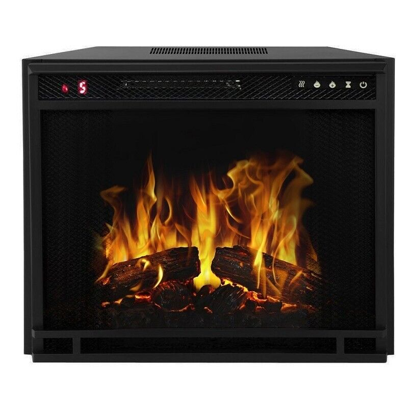 Regal Flame33 Inch Flat Ventless Heater Electric Fireplace I