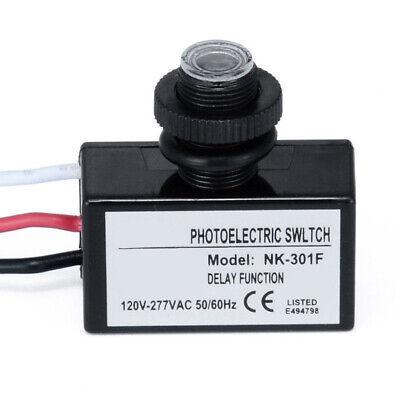 Photoelectric Photocell Dusk Dawn Button Photo Control Eye Switch Flush 120 V