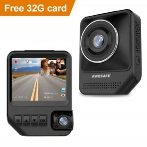 Used AWESAFE Dual Dash Cam for Cars