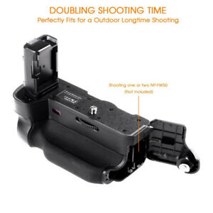 Battery Grip for SONY A7II A7R II A7SII (Replacement for VG-C2EM