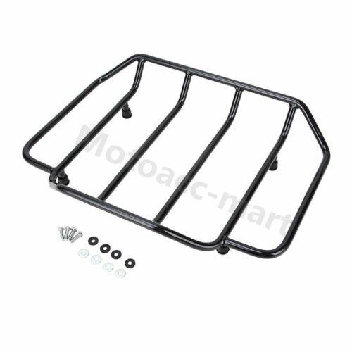 Motorcycle Tour Pack Trunk Luggage Top Rack For Harley