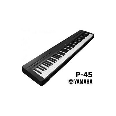 NEW Yamaha P-45 88 Key Weighted Action Digital Piano - Black