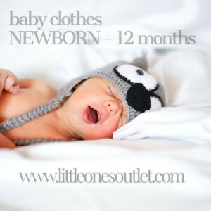 NEW & USED BABY CLOTHING - sizes newborn-12mo - AS LOW AS $3