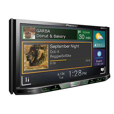 """Pioneer AVH-X490BS 7"""" Double DIN DVD Bluetooth Receiver (Replaced AVH-X4800BS)"""