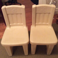 2 step2 toddlers chairs**2 for $10.00**
