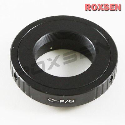 C 16mm Cine / Film Mount Lens To Pentax Q PQ P/Q Mount Q10 Adapter Q-S1 Q7