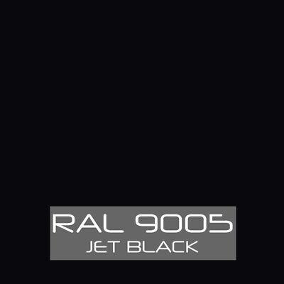 Ral 9005 Jet Black Powder Coat Paint - New 1lb