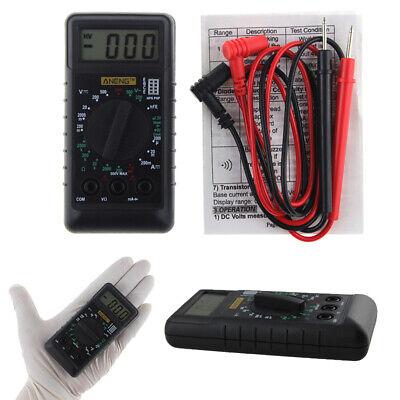 Universal Mini Multimeter Lcd Digital Volt Ac Dc Ohm Meter Tester Buzzer Bag Kd