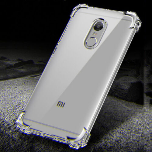 360° Shockproof Transparent Silicone Soft TPU Case Cover Skin For Xiaomi Note 4x