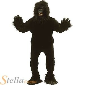 Jungle fancy dress ebay mens gorilla ape money suit adult animal jungle fancy dress costume solutioingenieria Images