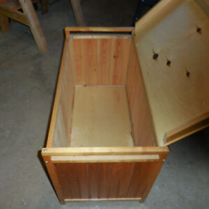 Hand Crafted Wooden Toy Box