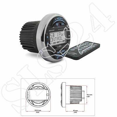 Caliber MRM640BT USB/AUX wasserfestes Marine Radio Boot Yacht - seetauglich