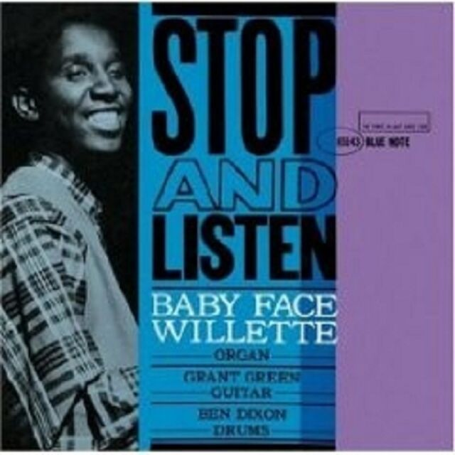 """BABY FACE WILETTE """"STOP AND LISTEN"""" CD 8 TRACKS NEU"""