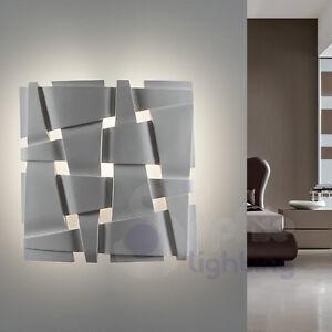 Applique-muro-lampada-ceramica-design-moderno-verniciabile-soggiorno ...