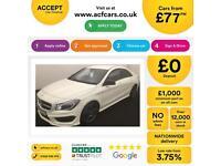 Mercedes-Benz CLA AMG Sport FROM £77 PER WEEK!
