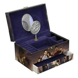 ★ TWILIGHT Breaking Dawn - 'Bella's Lullaby' Musical Jewellery Box (NECA) #NEW