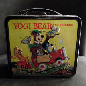 Vintage Yogi Bear and Friends Lunch Box