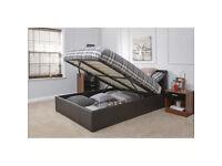 Ottoman bed and Silentnight mattress single