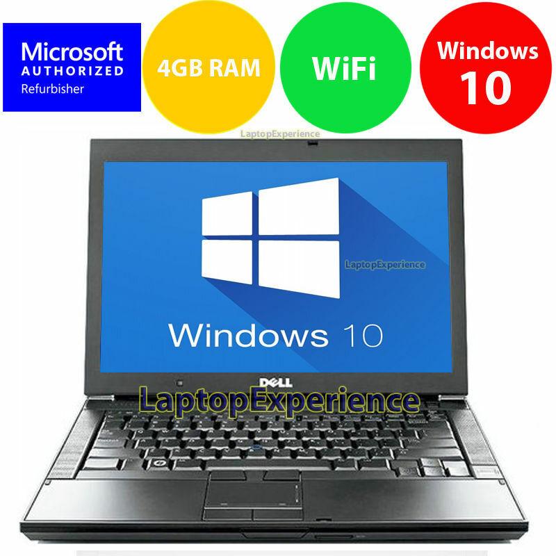 laptop latitude windows 10 core 2 duo