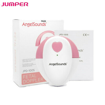 Angelsounds Fetal Doppler Baby Heart Rate Monitor Fetal Heartbeat Detector Fda