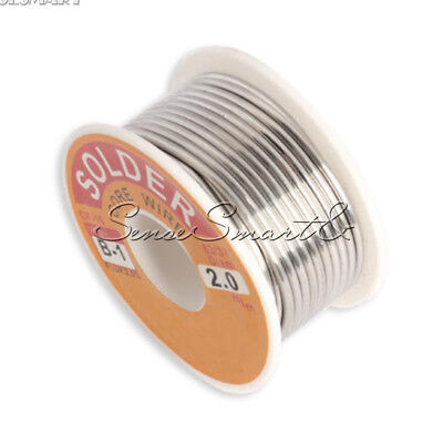 2.0mm 6337 Rosin Core Flux 2.0 Tin Lead Roll Soldering Solder Wire Reel 100g
