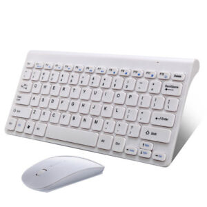 Wireless mini Keyboard ad Mouse - with 2.4GHz dongle - New