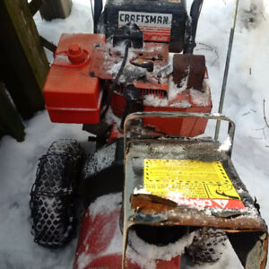 Snow blower, best offer takes it