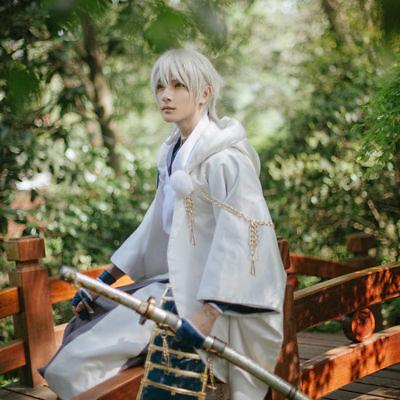 Tsurumaru Kuninaga Cosplay Touken Ranbu Online Samurai Polyester - Tsurumaru Kuninaga Kostüm