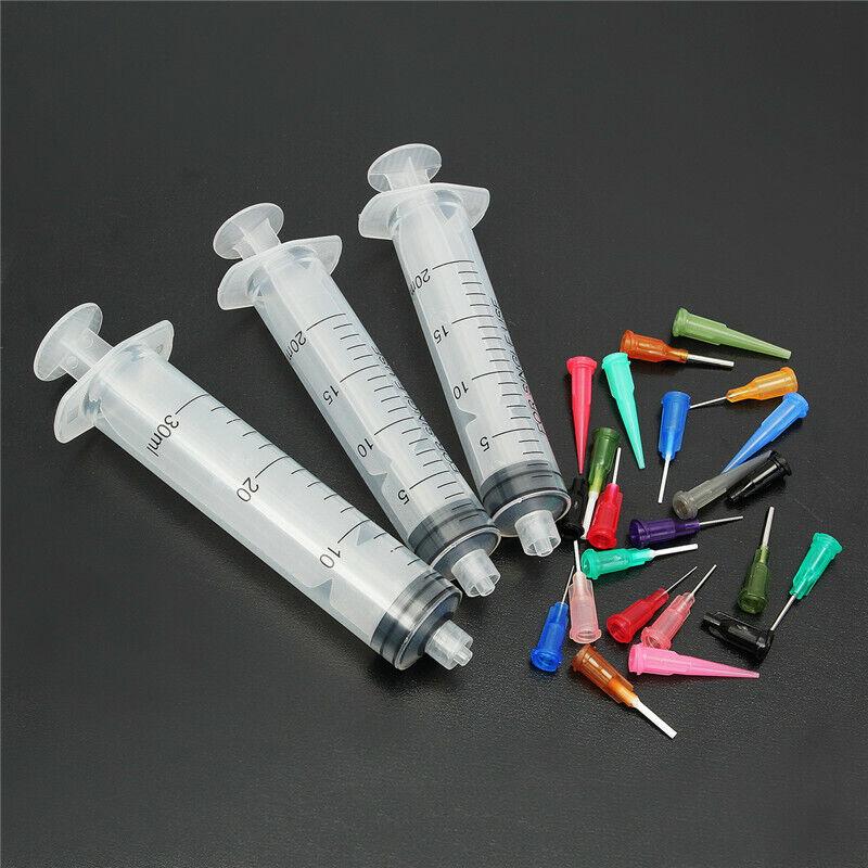 20CC-30CC Syringe SMT SMD PCB Solder Fluxes Welding EFD Dispenser Liquid Glue