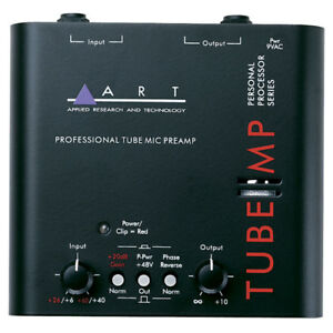 ART Tube MP (tube driven) Mic Pre Amp with Power Supply