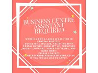 Business Centre Assistant