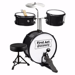 First Act Discovery Drum Set with Seat
